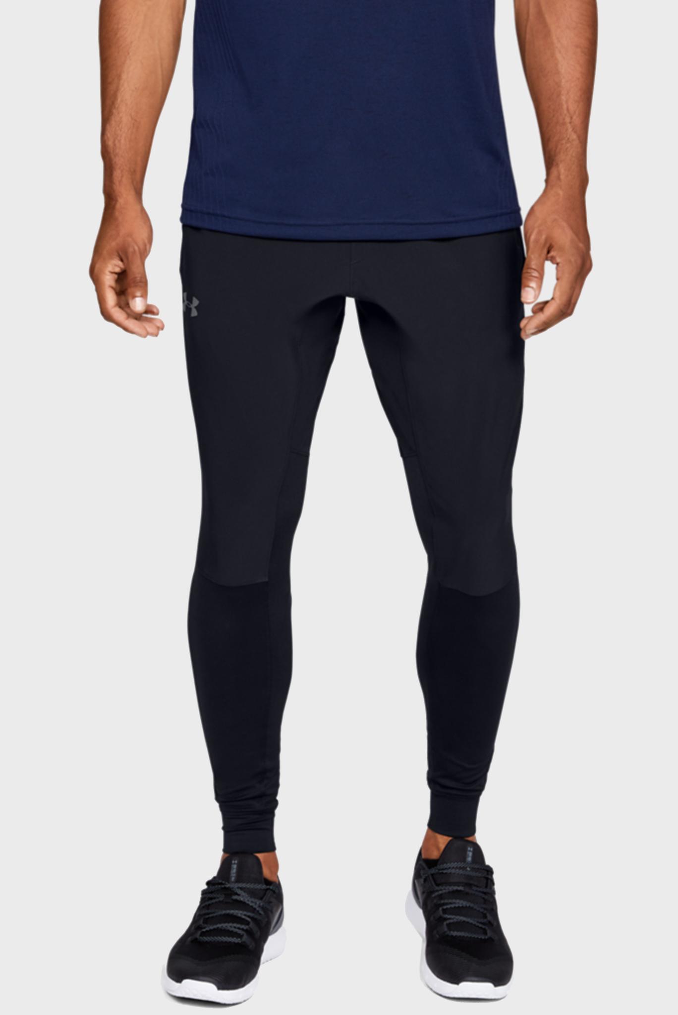 Мужские черные спортивные брюки HYBRID PANT Under Armour