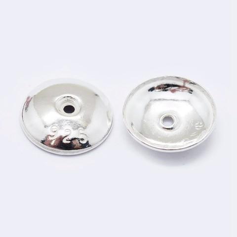 Шапочка Классика 8 мм серебро 925 1 шт