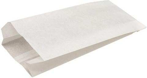 Пакет фасовочный бумажный 90х40х205 белый жиростойкий 40