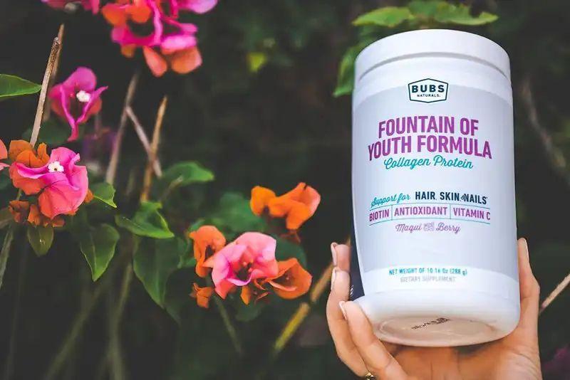 Формула молодости, Fountain of Youth Formula, Bubs Naturals (288 г)-5