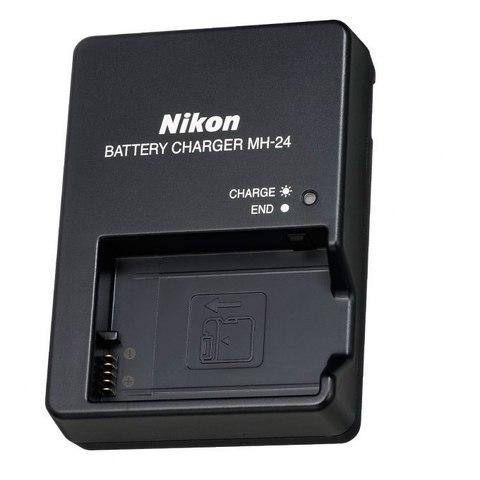 Зарядное устройство NIKON MH-24 для EN-EL14  EN-EL14A / D3100  D3200  D3300  D5100  D5200  D5300  P7000  P7100  P7700  P7800  DF.