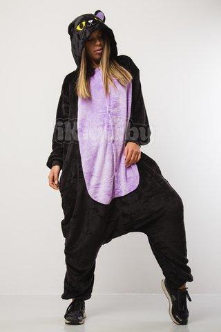 Пижамы кигуруми Ночной кот (фиолет) kot_fiolet.jpg
