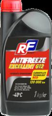 17357N RUSEFF Антифриз ANTIFREEZE EXCELLENT G12 40 (1кг)