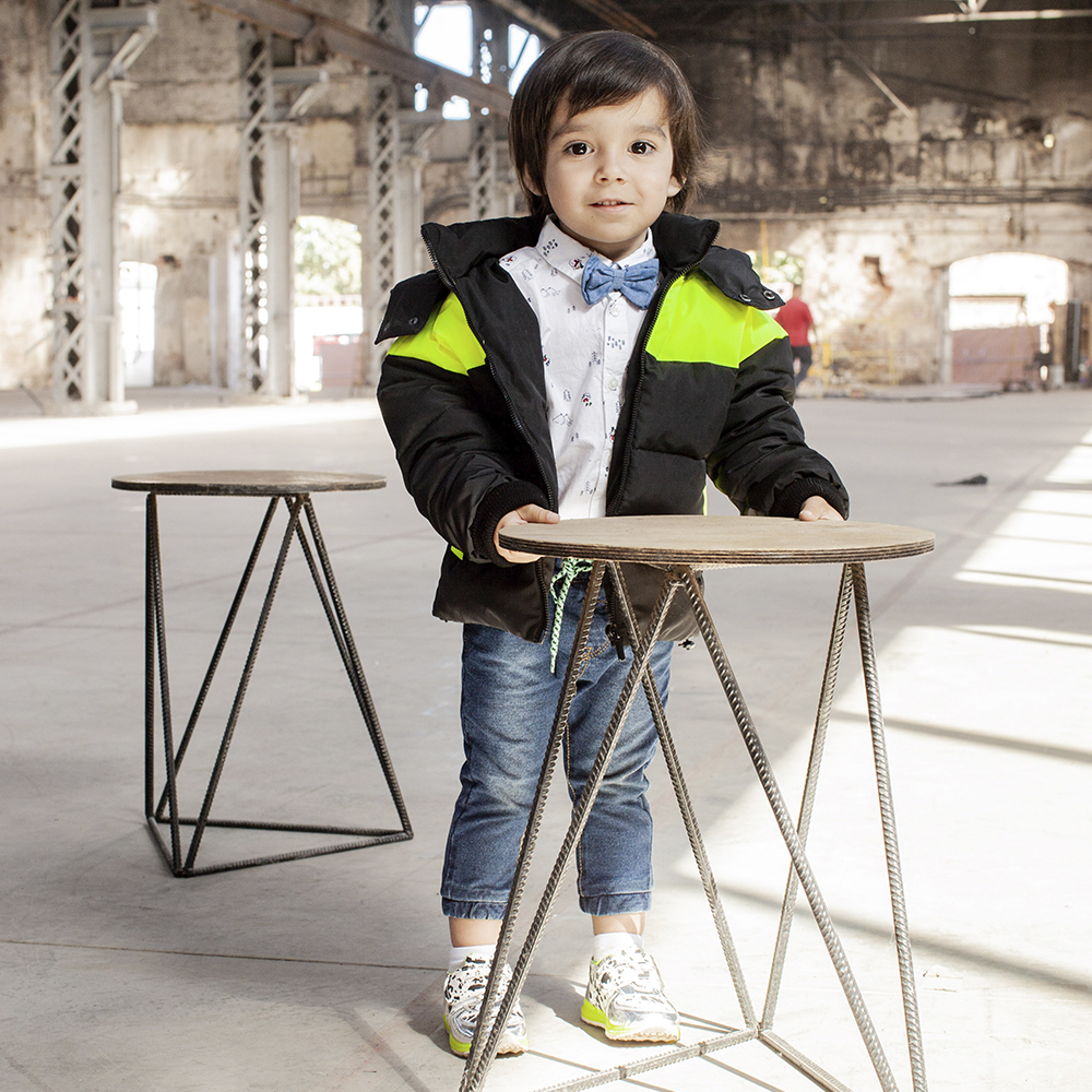 Демісезонна дитяча куртка з світловідбиваючими вставками light Green boy на хлопчика