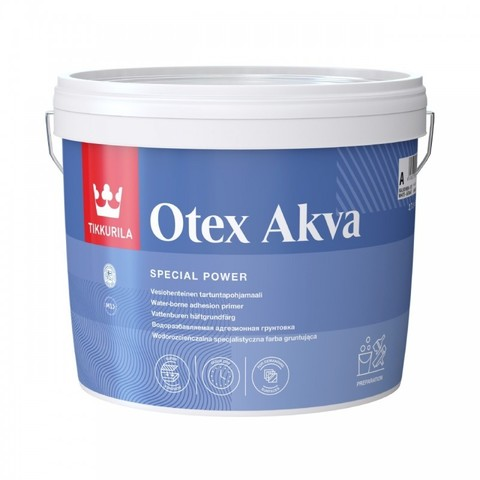 Tikkurila Otex Akva/Тиккурила Отекс Аква адгезионная грунтовка на водной основе