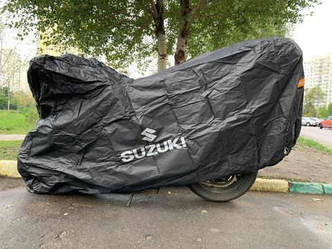Чехол для мотоцикла с логотипом Suzuki