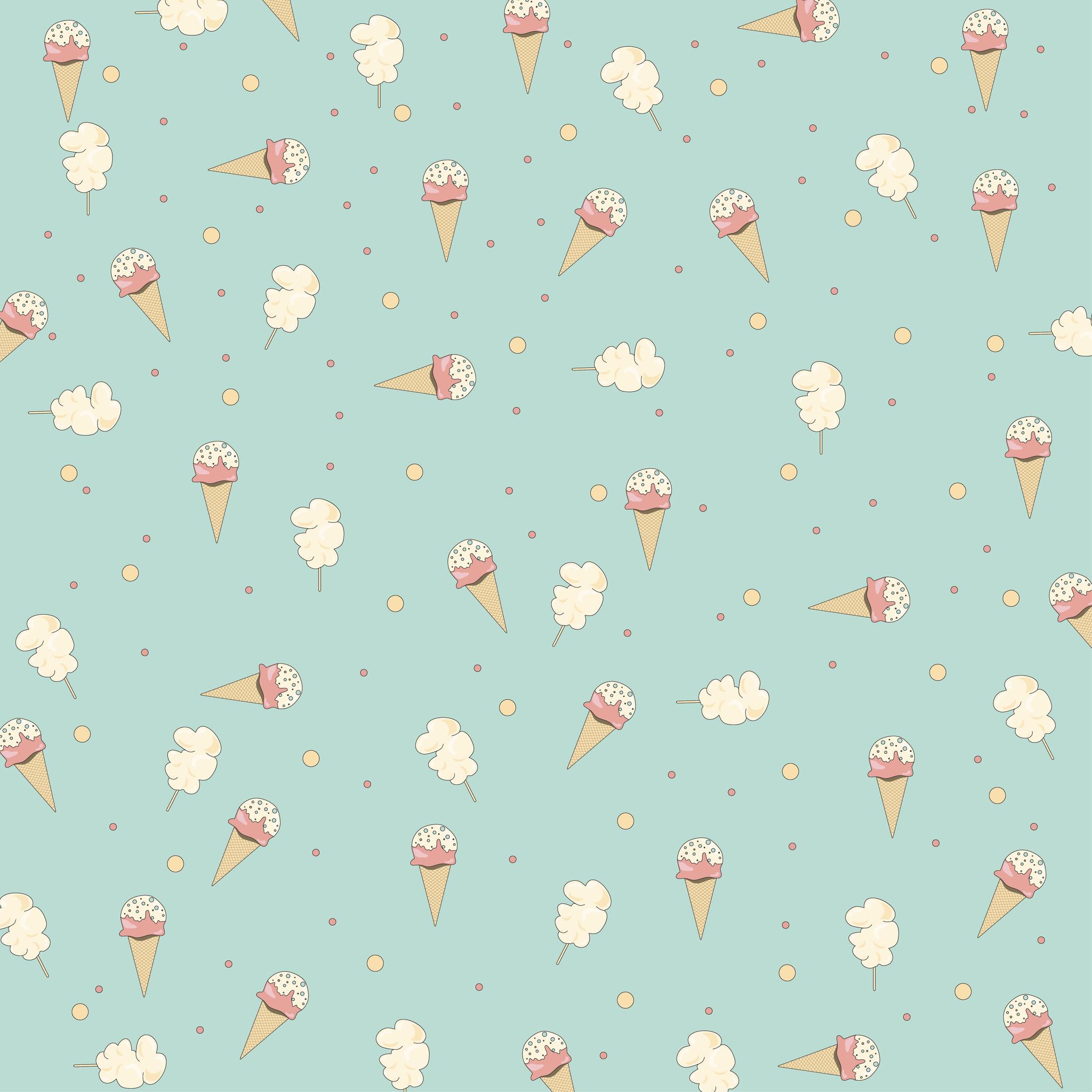Бумага для скрапбукинга Вкусно и сладко