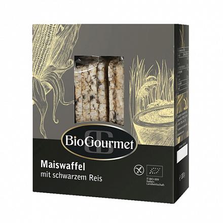 Хлебцы кукурузные с чёрным рисом BioGourmet, 100 г
