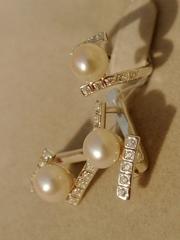 Юкона  (кольцо + серьги из серебра)