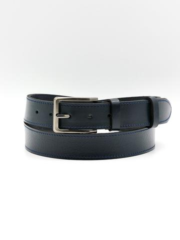 Ремень для брюк тёмно-синий Doublecity RC34-05-08