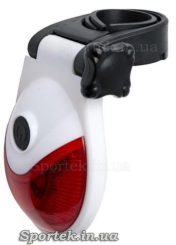 Велосипедный красный задний фонарь (JY-605)