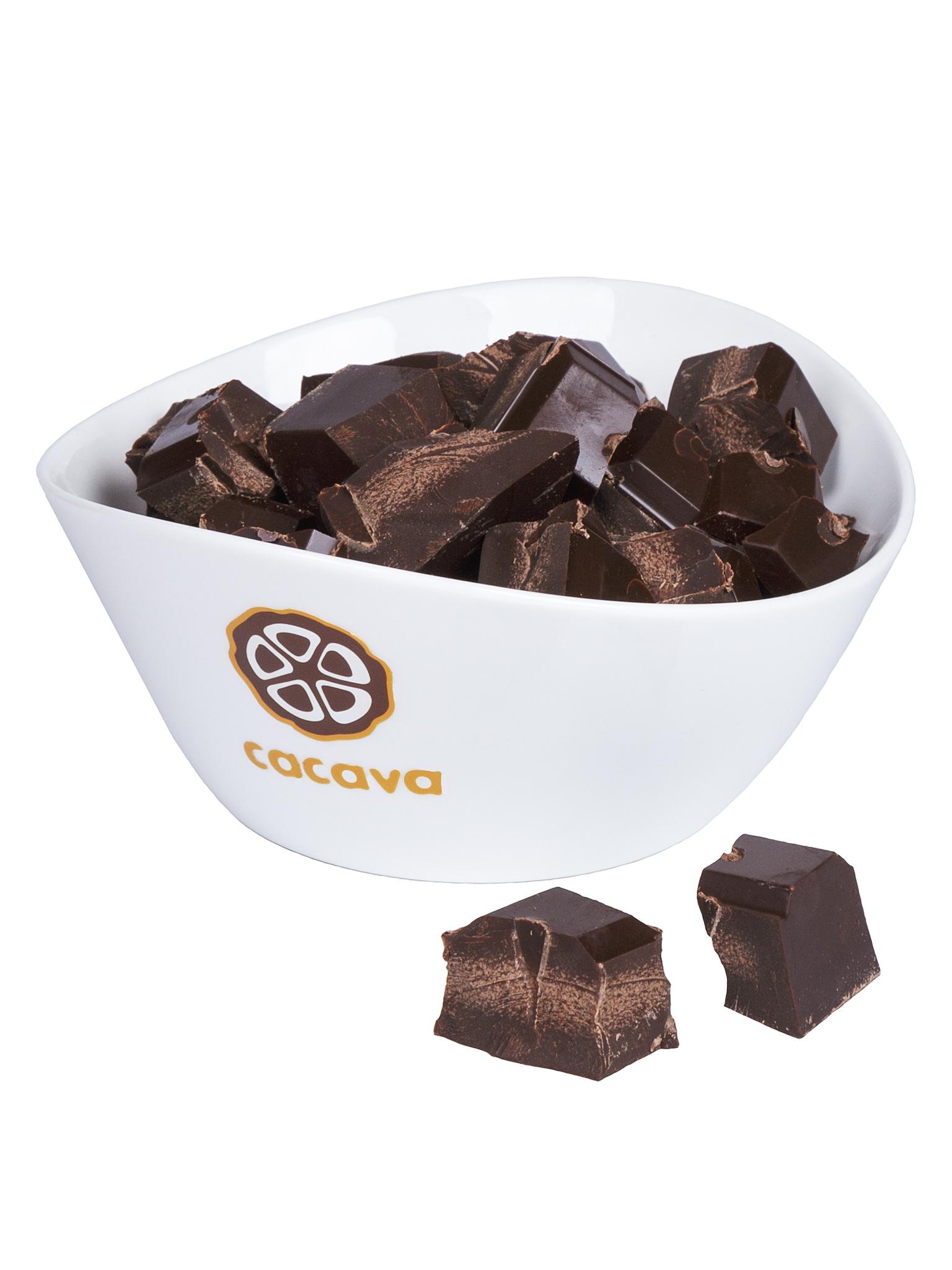 Тёмный шоколад 70 % какао (Колумбия, Tumaco), внешний вид