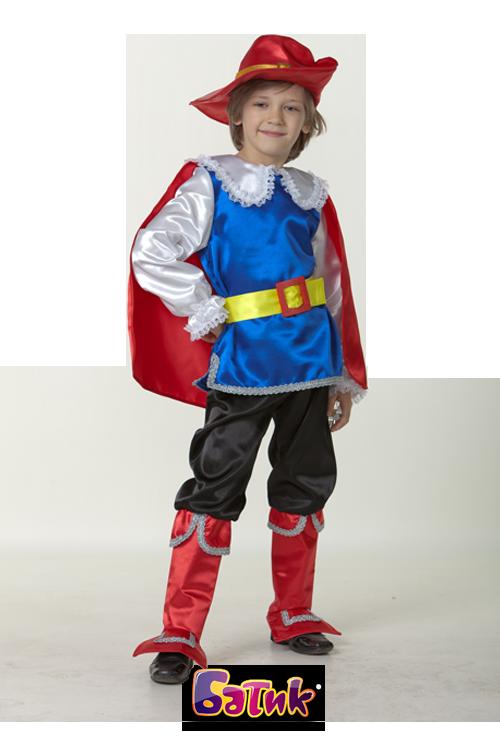 Карнавальный костюм детский Кот в сапогах