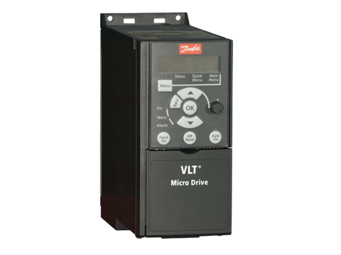 Частотный преобразователь Danfoss VLT Micro Drive FC 51 (4 кВт, 380В, 3 ф) 132F0026