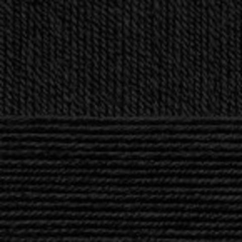 Купить Пряжа Пехорка Детский каприз Код цвета 002-Черный | Интернет-магазин пряжи «Пряха»
