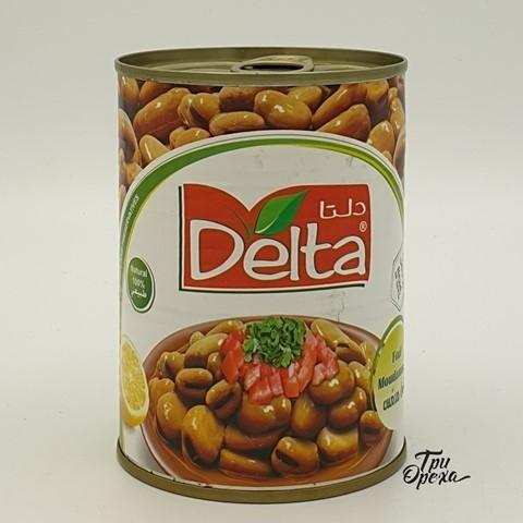 Бобы варенные консервированный Delta