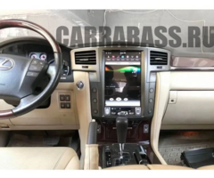 Магнитола Lexus LX570 (2007-2015) стиль Tesla Android 9.0 4/64GB IPS  DSP модель ZF-1819-DSP