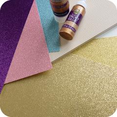Кардсток с глиттером Best Creation Glitter Cardstock 12