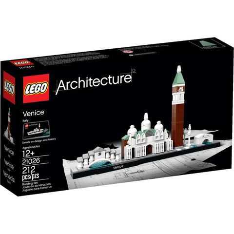 LEGO Architecture: Венеция 21026 — Venice — Лего Архитектура