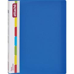 Папка файловая на 20 файлов Attache А4 синяя