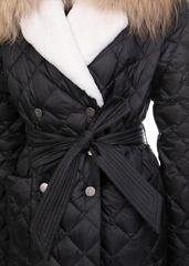 Пальто пуховое Naumi 1719 black