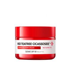 Успокаивающий крем с красным чайным деревом SOME BY MI Red Teatree Cicassoside Derma Solution Cream 60g