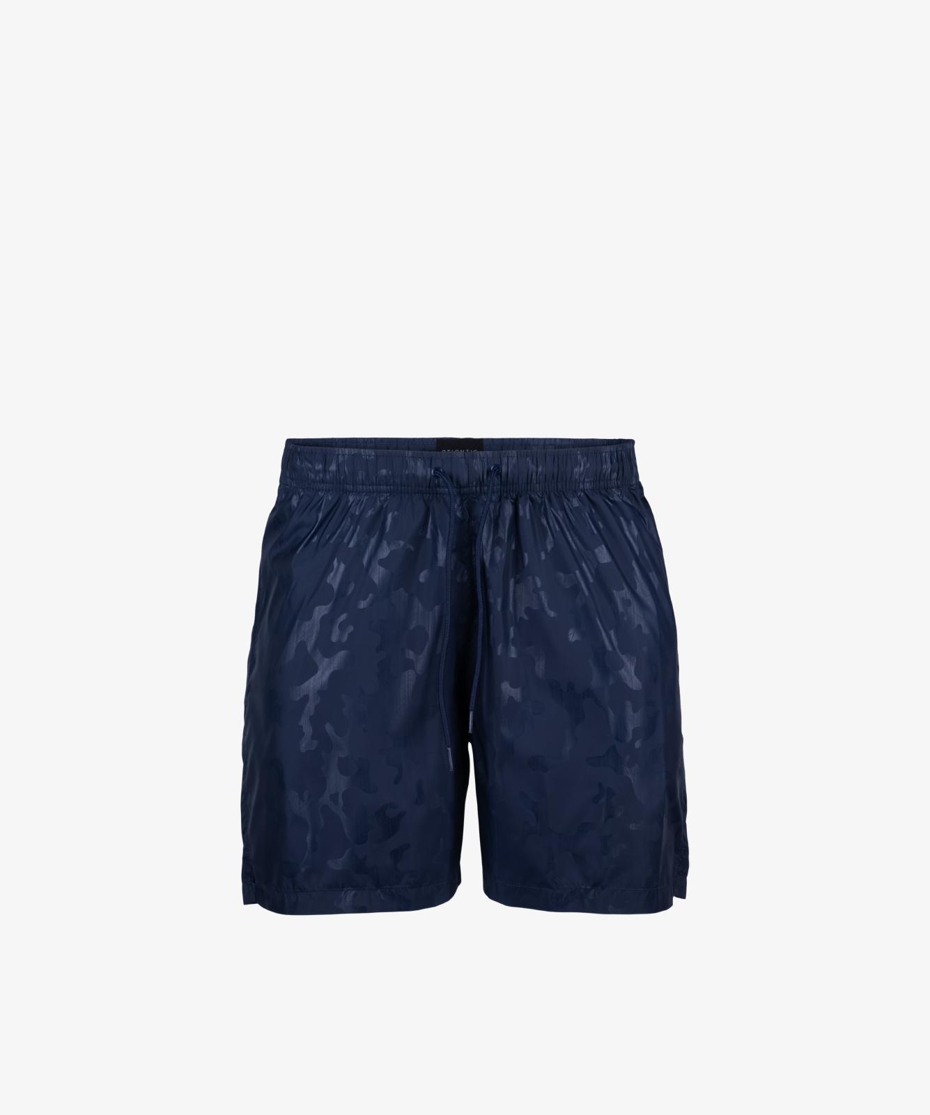 Пляжные шорты мужские Atlantic, 1 шт. в уп., полиэстер, темно-синие, KMB-194