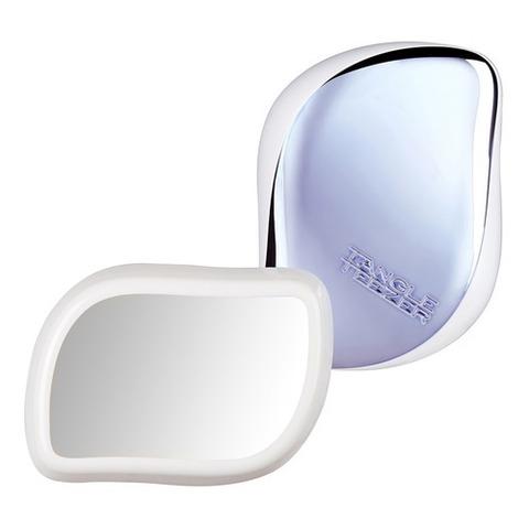 Расческа компактная с зеркалом Mirror Blue | Tangle Teezer