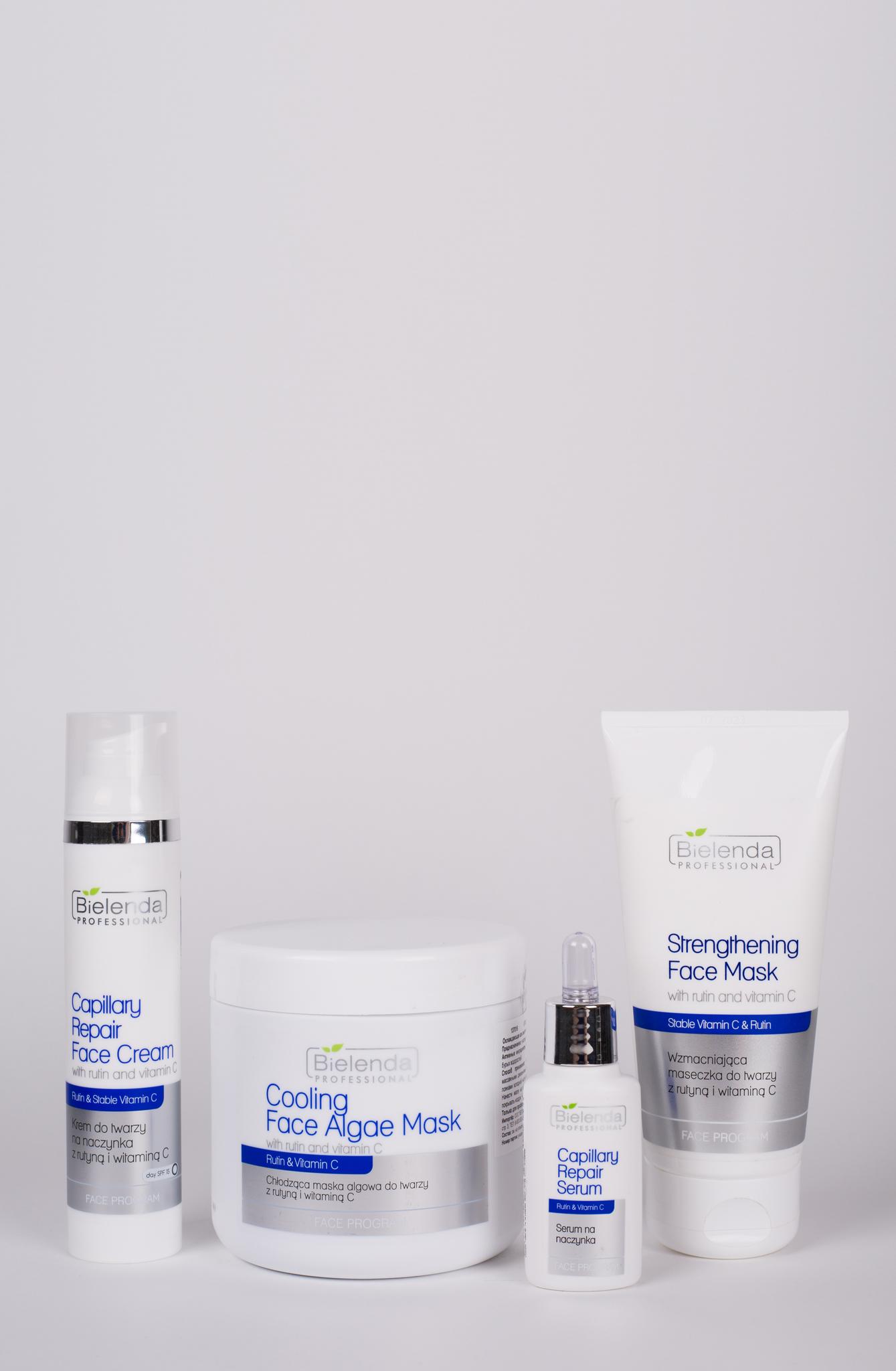 VITAMIN C AND RUTINE ANTI-CAPILLARIES Укрепляющая маска для лица с рутином и витамином С, 175 мл.