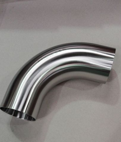13046756 Отвод диаметром 76 мм для молочного трубопровода, 155х155 мм