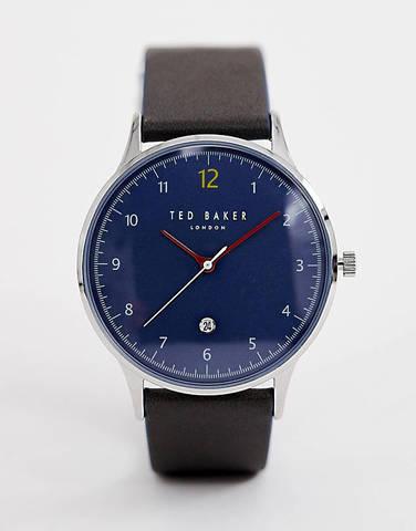 Часы с кожаным ремешком Ted Baker Ethan