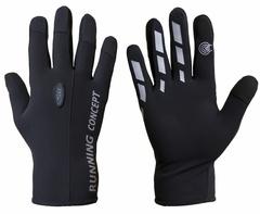 Перчатки Ray Классик черный-серый
