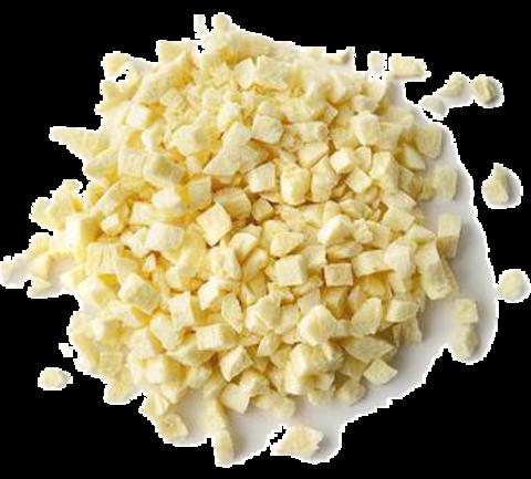 Сублимированный ананас (кусочки 5х5 мм), 50гр