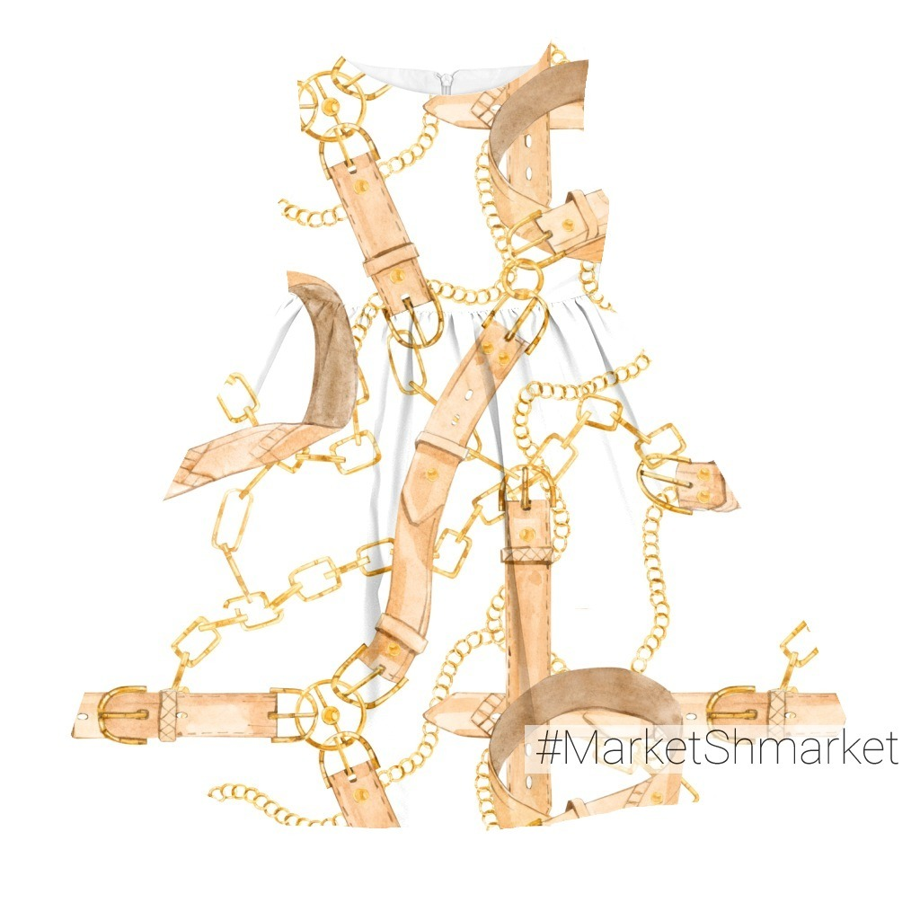Золотые цепи и ремни - барокко