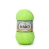 Пряжа Nako Bambino 9007 (Салатовый неон)