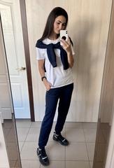 Афіна. Прогулянковий спортивний костюм. Синій