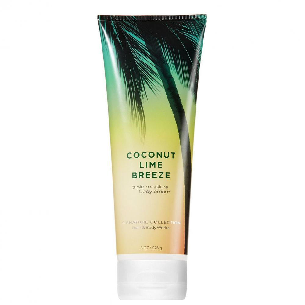 Крем для тела Bath&BodyWorks Coconut Lime Breeze 226 гр