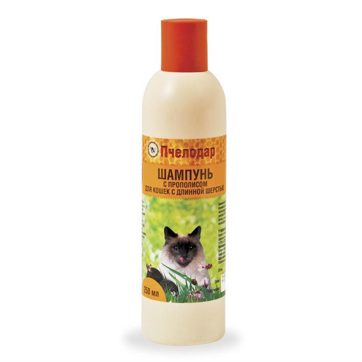 купить Пчелодар гигиенический шампунь с прополисом для длинношерстных кошек