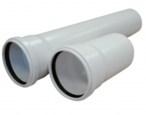 Труба канализационная ф110х500 ПП УЮТ - Контур
