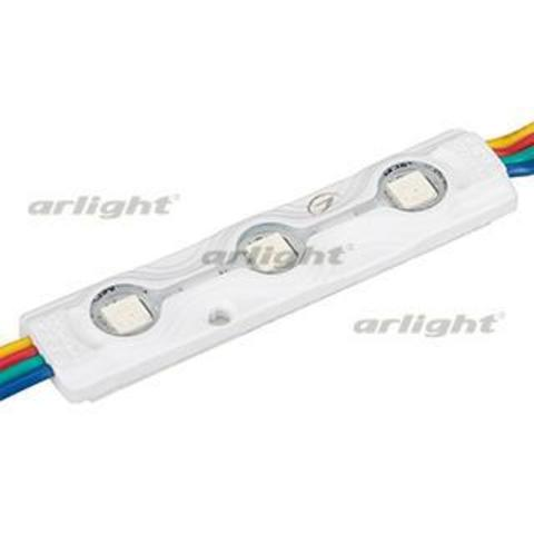 Модуль герметичный ARL-ORION-R07-12V RGB (5050, 3 LED)