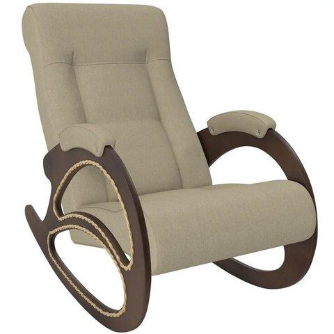 Кресло-качалка Комфорт Модель 4 орех/Malta 01