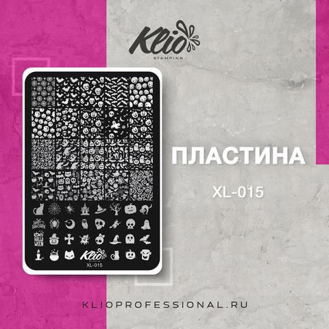 ПЛАСТИНА ДЛЯ СТЕМПИНГА KLIO PROFESSIONAL XL-015