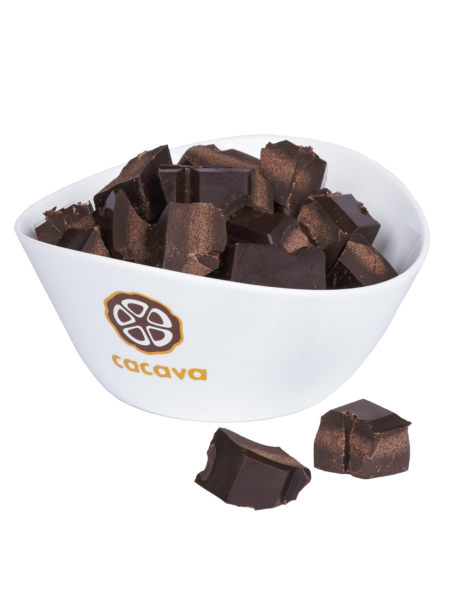 Тёмный шоколад 70 % какао (Индия, IDUKKI), внешний вид