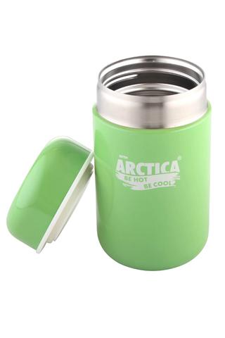 Термос для еды Арктика (0,4 литра), зеленый