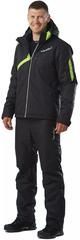 Утеплённый прогулочный лыжный костюм Nordski Premium Black Green мужской