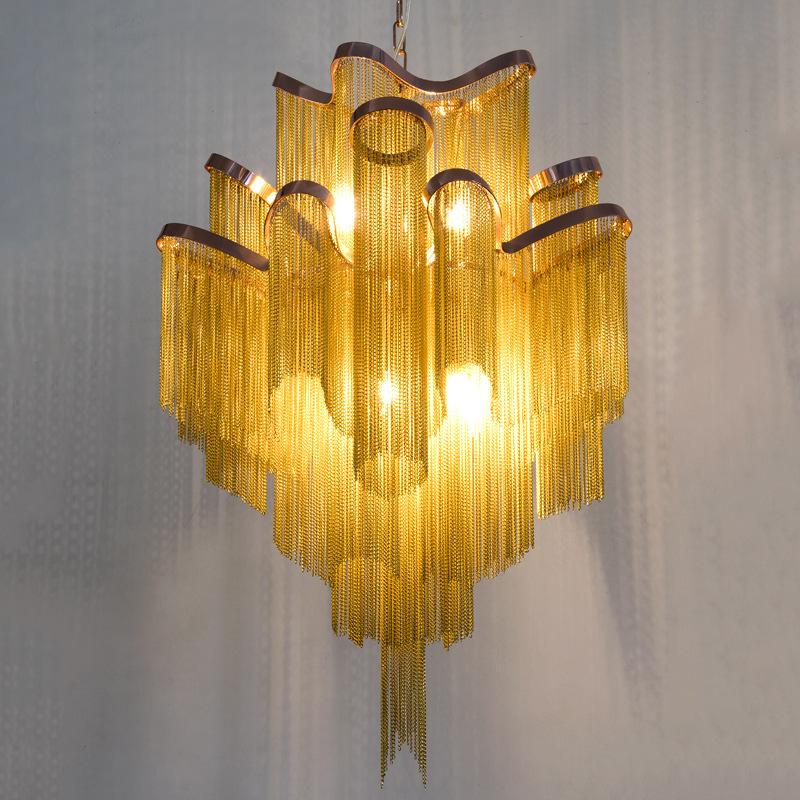 Подвесной светильник копия  Stream by Terzani (золотой)