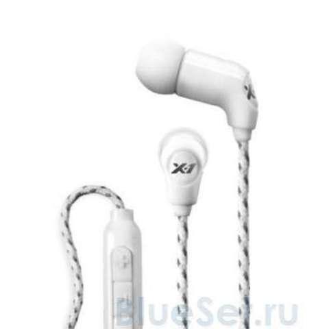 X-1 Women's Momentum Ultra Light White Водонепроницаемые Наушники  с элементами управлением (iPod)
