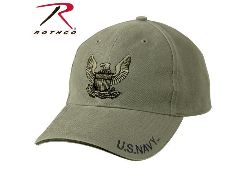 Кепка US Navy Eagle Rothco (хаки)