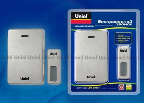 Uniel Звонок UDB-005W-R1T1-SL