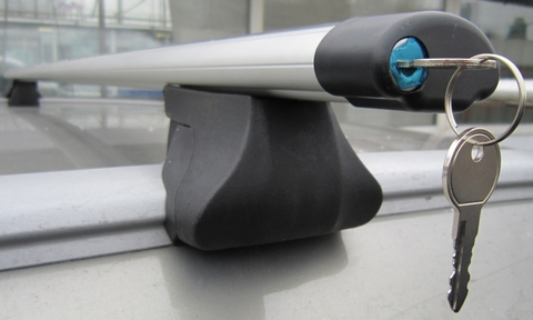 Багажник Интер  Интегра с аэро поперечиной с замком 120 см.